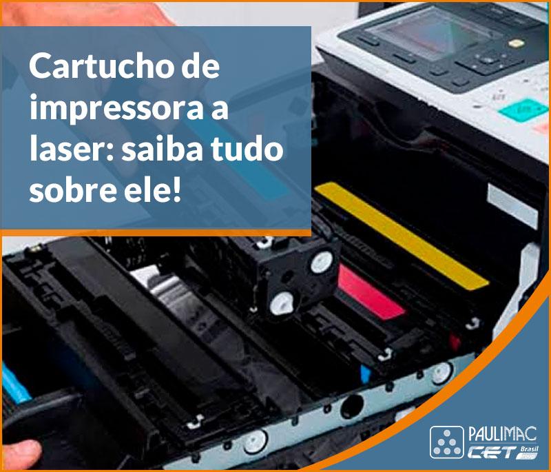 cartucho de impressora a laser