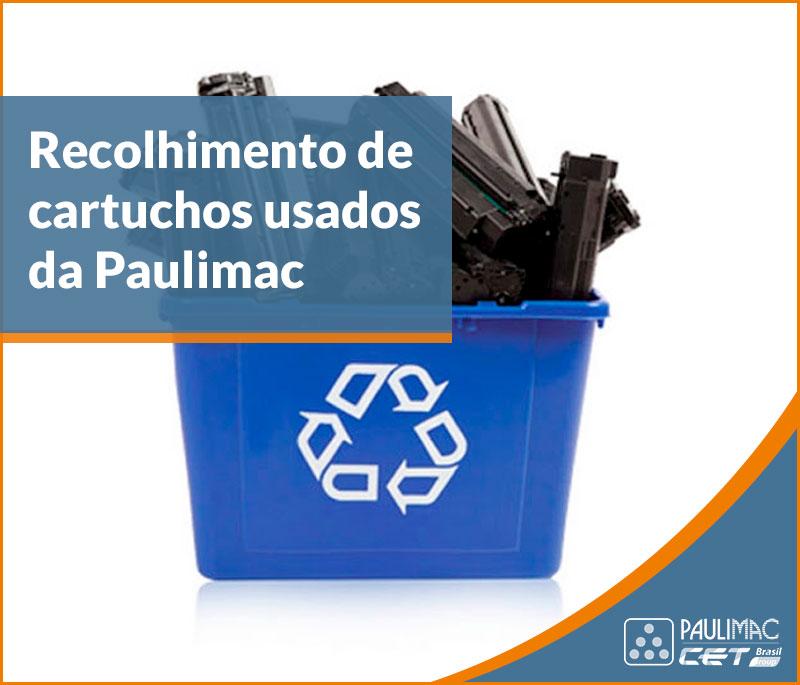 reciclagem de cartuchos