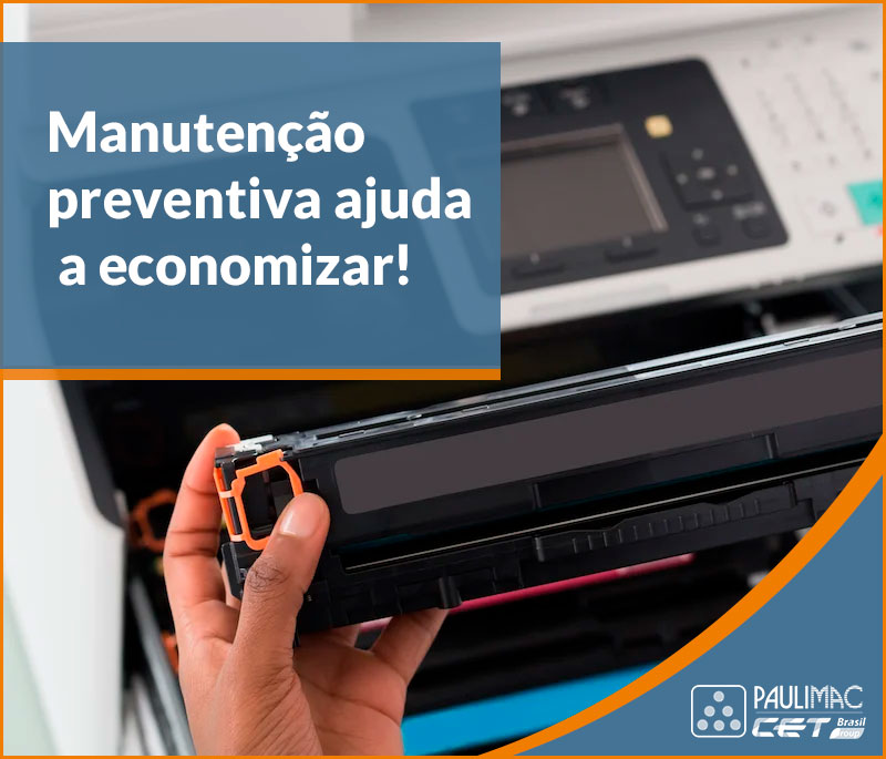 manutenção impressora