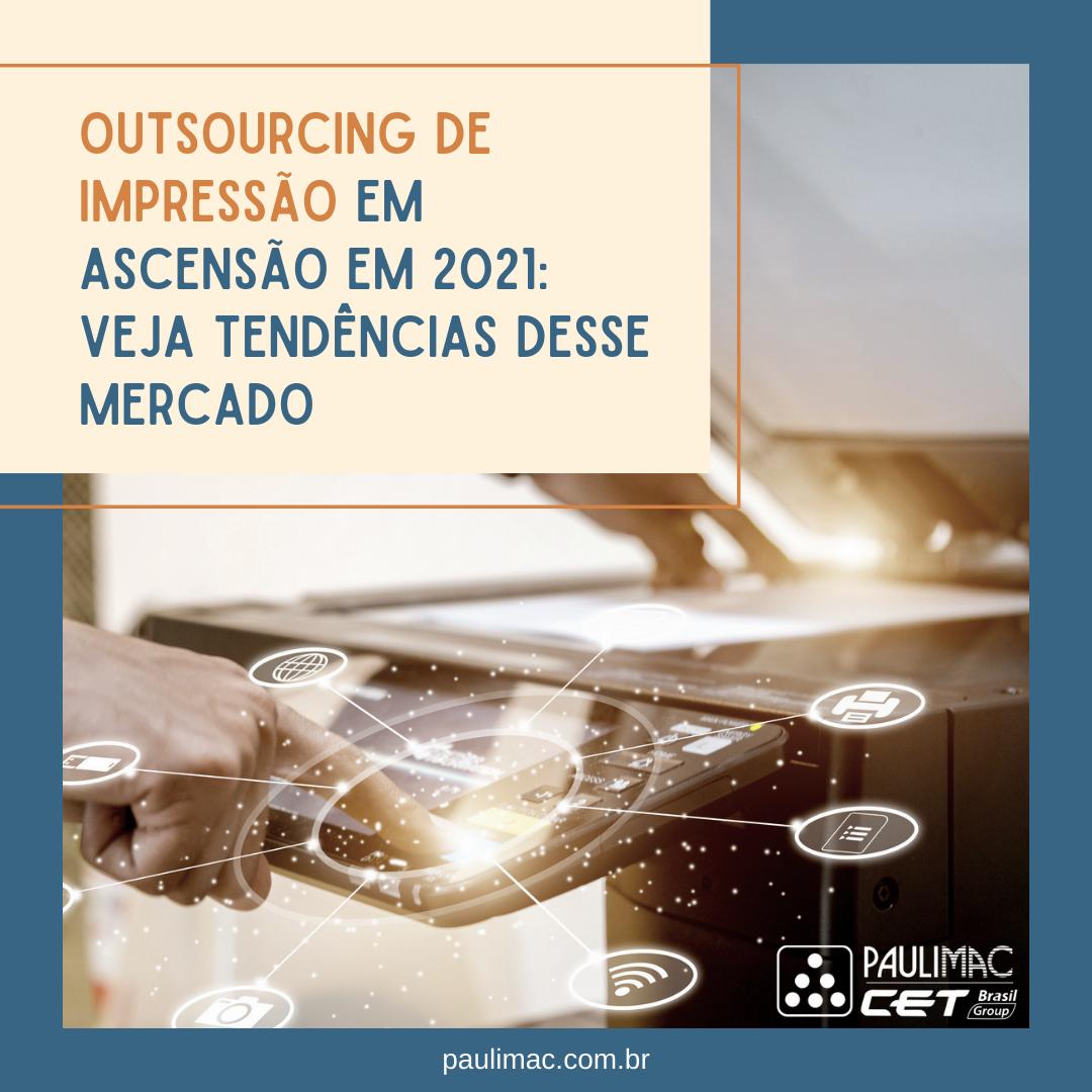 tendências para outsourcings de impressão